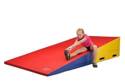 We-Sell-Mats-Gymnastics-Folding-and-Non-Folding-Incline-Cheese-Wedge-Skill-Shape-Tumbling-Mat-0-1