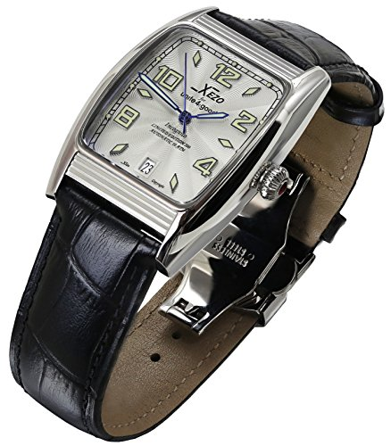 Xezo-Mens-2024S-L-Tonneau-Automatic-Retro-Style-10-ATM-Water-Resistant-Leather-Band-Watch-0