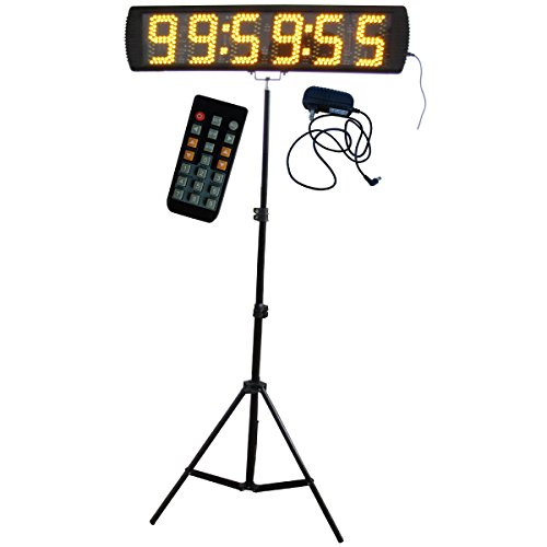Yellow-Color-Portable-5-Inch-LED-Race-Timing-Clock-for-Running-Events-LED-Countdownup-Timer-0