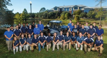 Georgia Southern University's Eagle Motorsports team, with support from Hisun's Strike 1000 sport UTV, will be the first collegiate team to race in the SCORE Baja 1000.