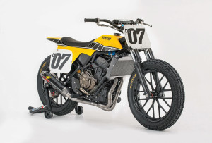 The 2016 Yamaha flat track concept bike — the DT-07
