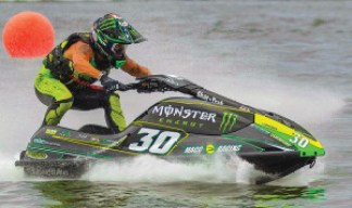 Chris MacClugage won the Pro-Am Ski GP class at the 2015 Broward Motorsports Pro Watercross World Championships in Naples, Fla.