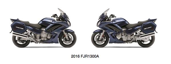 2016 YamahaFJR1300A