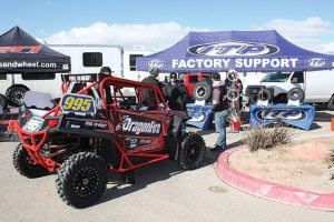 Aftermarket companies are lending their support to the various UTV racing series.