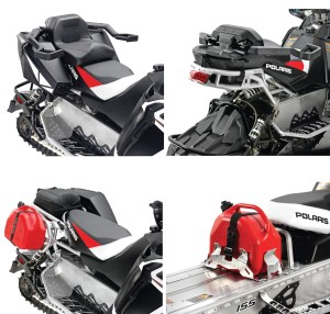Polaris has expanded its Lock & Ride cargo and accessory system to more models for 2014.