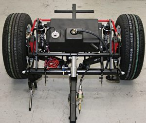 Roadsmith Trikes' chassis is made with Volkswagen components.