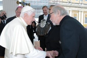 In October, Pope Benedict XVI blessed two Harley-Davidson tanks to mark the countdown to Harley's 110th anniversary European Celebration. During those festivities, which will occur June 13-16, Pope Benedict XVI's successor, Pope Francis, will host a blessing of the bikes.