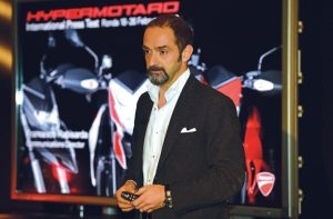 Ducati's North American sales have been record-breaking since the appointment of Cristiano Silei in 2011.