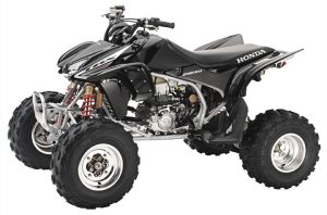 The 2005 Honda TRX450R was the most researched ATV in the 400cc and Over category on KBB.com during the second quarter.