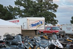 Ken's Sports, Inc. from Kaukana, Wis., near Appleton, made the trek to Haydays in 2012. The dealership sells Arctic Cat and Polaris snowmobiles.