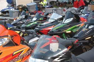 For the snowmobile enthusiast, there's no better place to be in early September than Haydays in Minnesota.