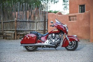 Indian's 2014 Chieftain is among the three new models eligible for the OEM's Indian Motorcycle Assurance Program.