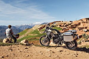 The 2014 BMW F800GS Adventure will likely provide a sales boost from dirt riders.