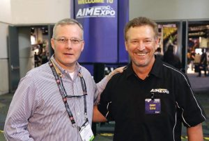 U.S. Rep. Tim Griffin (R-Ark.) joined AIMExpo's Larry Little in Orlando.