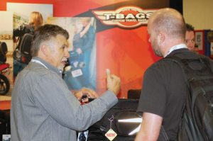 T-Bags attends consumer and trade shows to learn what features customers would like to see in its products.