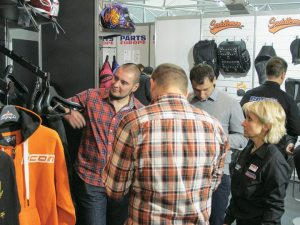 Brands such as Icon and Saddlemen were popular choices among the dealers in attendance at EICMA in Milan, Italy, where Parts Europe did a brisk business.