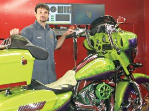 DC Cycle & Racing owner David Crane will be making the trip to Cincinnati from his performance shop in Red Bay, Ala.