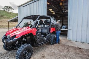 The Yamaha Viking's versatility is an asset for commercial buyers.