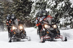 The Arctic Cat TZ1 LXR is popular among touring riders.