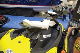 The Sea-Doo Spark attracted heavy interest at the Minneapolis Boat Show.