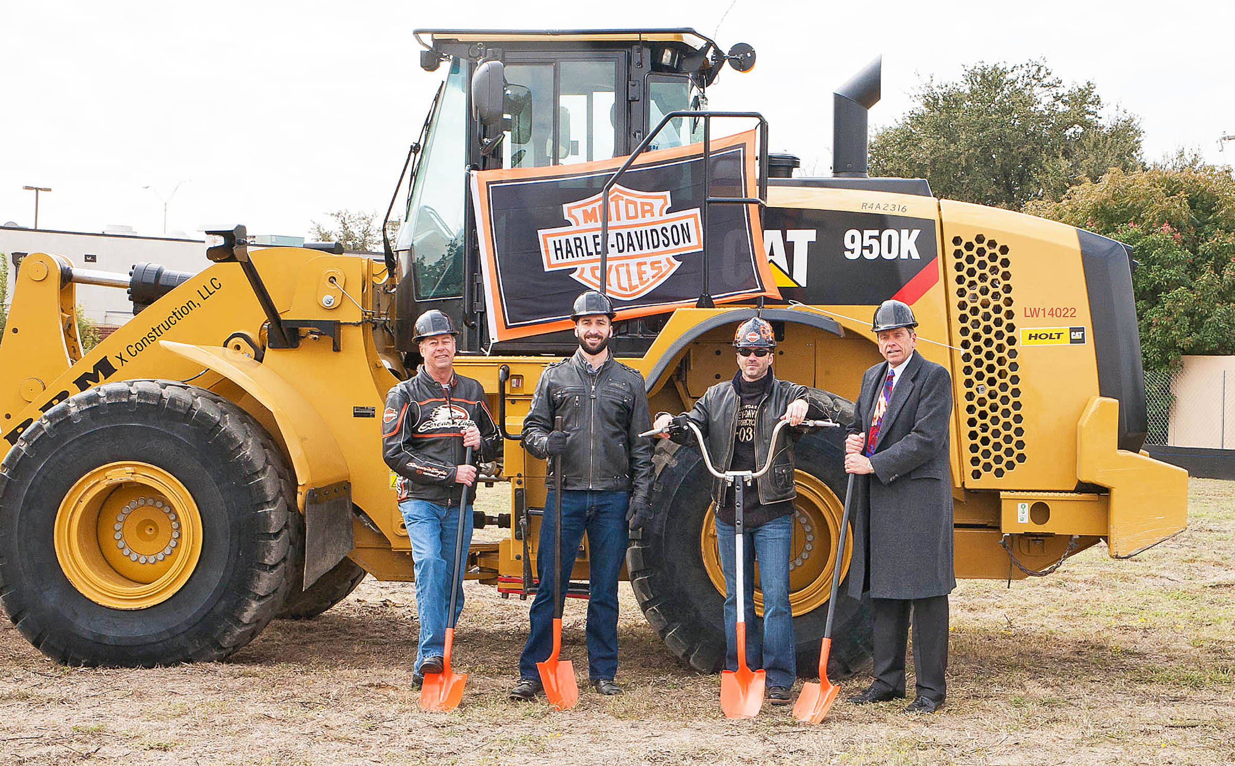texas h-d celebrates ground breaking | powersports business