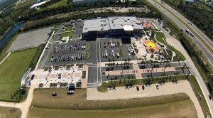 Six Bends Harley-Davidson includes the dealership, commercial space, the 3-acre Top Rocker Field, a 2 1/2-acre rider education facility, an outdoor plaza and more on 16.5 acres in Fort Myers, Fla.