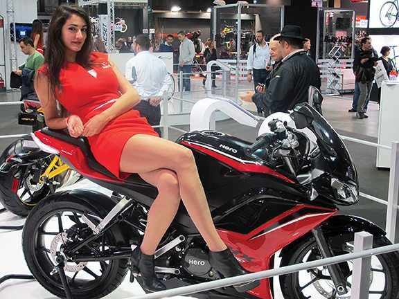 Hero showcased its all-new HX 250R sport bike for the Indian market at EICMA, featuring the company's first in-house built motor following its separation from Honda