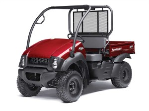 Dealers sold nearly 1,400 Kawasaki tops for the Mule 610 models in 2014.