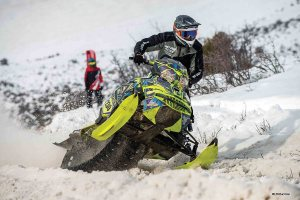 Blaine Mathews helped the Ski-Doo X-Team racers to a strong start to the hillclimb season.
