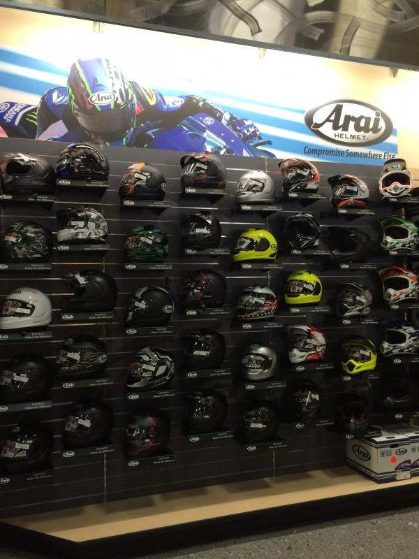 """Arai """"Brand Showcase""""  Lynnwood MotoPlex; Lynnwood, WA"""