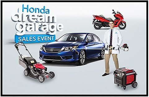Hondas Powersports Automotive And Power Products Divisions Partnered On A First Of Its