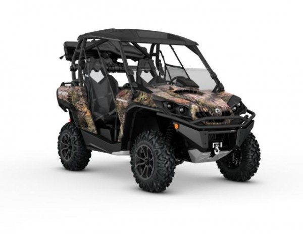2016 Commander 1000 Mossy Oak Break-up Country Camo Hunting Edition_3-4 front