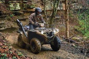 The all-new 2016 Yamaha Grizzly brings added power and torque with its all-new 708cc engine.