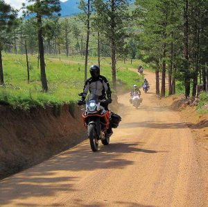 In June, Foothills Motorcycles hosted an overnight adventure touring experience. During the weekend trip the group of 25 riders traveled more than 250 miles.