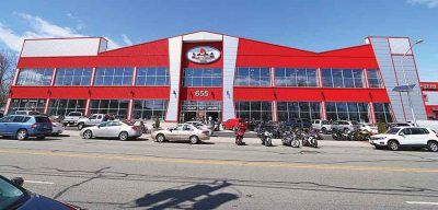 Motorcycle Mall moved to its present location in April 2012.