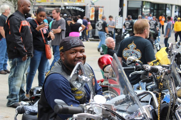 Capital City Bikefest attracts 100,000 people to downtown Raleigh.
