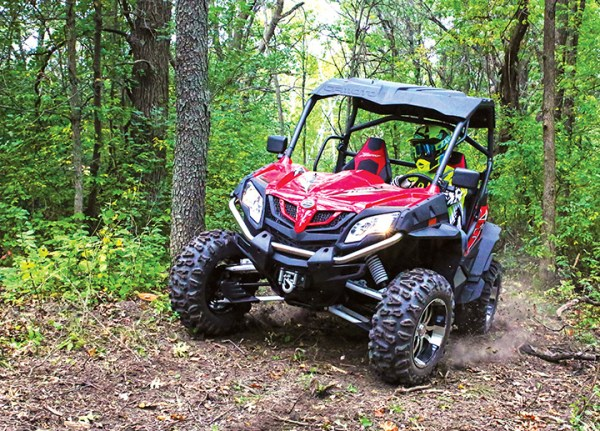 The 2016 ZFORCE 800 EX will retail for $10,799.