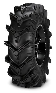 The all-new, ITP Cryptid mud tire is available in sizes as large as 36 inches for side-by-side vehicles on 14-, 15- and 17-inch wheels.