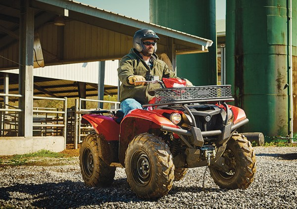Yamaha has donated a 2016 Kodiak 700 EPS in support of National Hunting and Fishing Day.