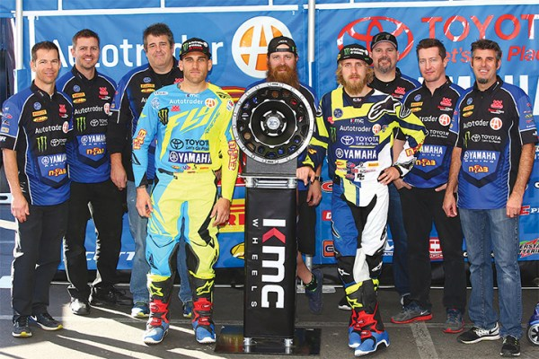 KMC Wheels signed a deal with Joe Gibbs Racing Motocross through 2018.