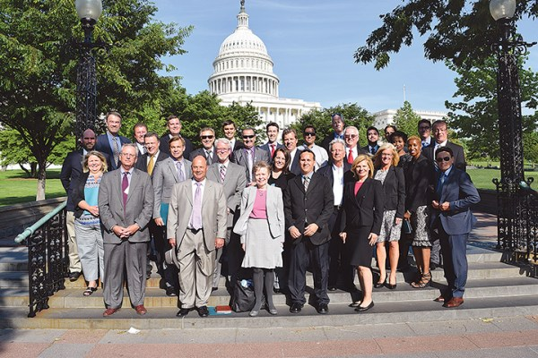 Participants of the Motorcycle Industry Council's annual D.C. fly-in have included representatives from manufacturers, distributors, dealers and retailers, allied trades and others with a commercial interest in the industry.