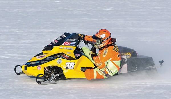 Matt Schulz of Wausau, Wis., captured his second Snow Goer Cup by winning the Eagle River World Championship in January. He also won on the banked ice oval in 2010.