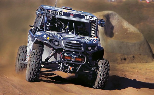 Hisun made its UTV racing debut by providing a Strike 1000 UTV to the Georgia Southern University entrant at the SCORE Baja 1000.
