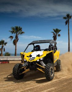 Side-by-sides like the YXZ1000R from Yamaha helped the UTV market grow by nearly 10 percent in 2015.