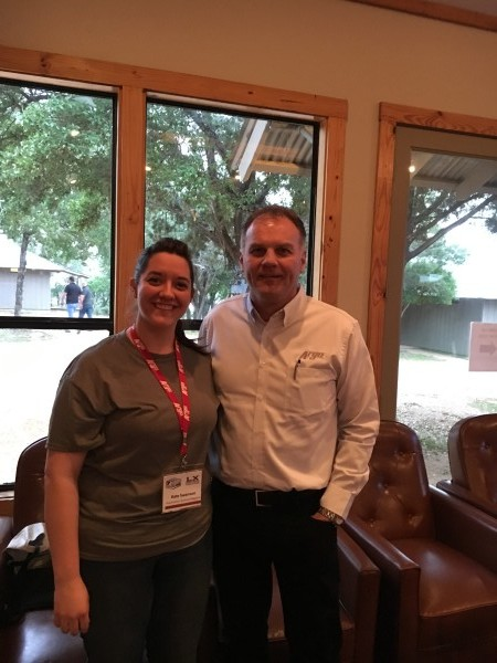 Assistant editor Kate Swanson had the opportunity to meet ARGO's president Brad Darling in Austin this week.