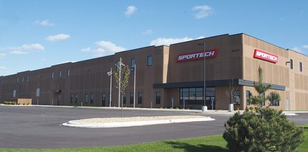 Industry supplier Sportech, located in Elk River, Minn., has a new owner of its manufacturing plant and warehouse building.