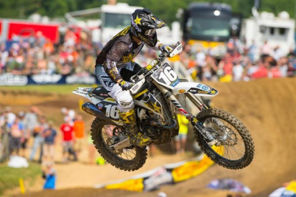 Osborne just missed out on his first overall victory, but did break through for the first moto win of his career. Photo credit: Simon Cudby.