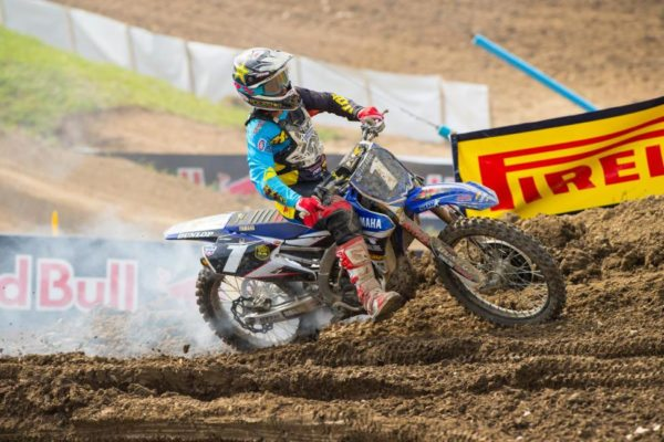 White smoke from their motorcycles affected both Jeremy Martin (pictured) and Alex Martin, resulting in DNF's for both riders. Photo credit: Simon Cudby