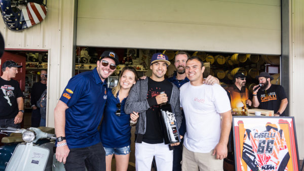 The Kurt Caselli Foundation received proceeds from raffle and auction items, like this one-off commemorative bottle of Doffo wine.