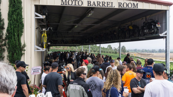 Hundreds of motorcycles were on display from the MotoDoffo Vintage Motorcycle Collection, KTM, the Kurt Caselli Foundation, and other special guests.